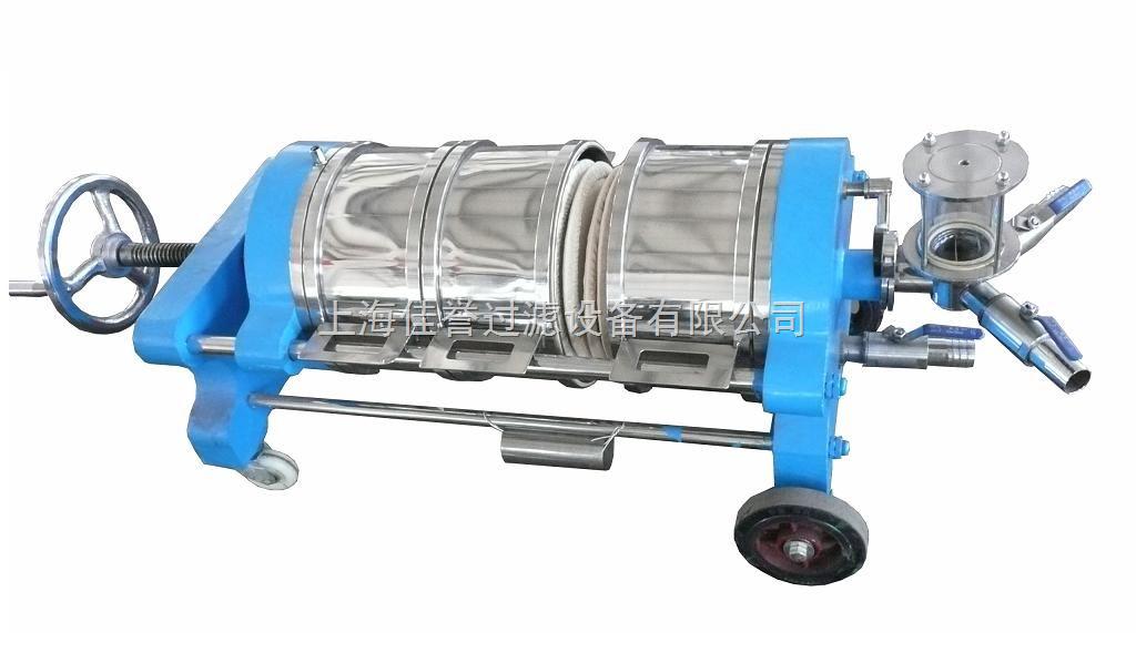 产品简介   工作原理及结构特点: 悬浮液用料泵送入纸板板框过滤器