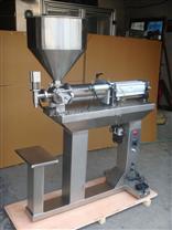 半自动膏体灌装机械,食品药品灌装,膏液两用灌装机