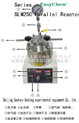 供应高压反应釜,实验高压反应釜,500ml供应电加热不锈钢反应釜
