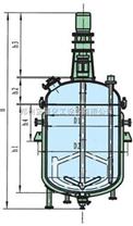 新型能源电加热搪瓷反应釜