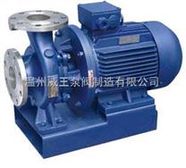 ISWH臥式不銹鋼管道離心泵生產廠家