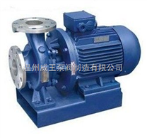ISWH型臥式單級不銹鋼管道離心泵生產廠家,價格,結構圖