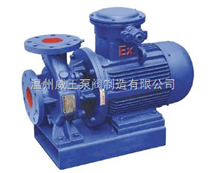 ISWB型臥式單級防爆管道離心泵生產廠家,價格,結構圖