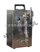 小型自动灌装机-玻璃瓶液体灌装机-台式液体灌装机械
